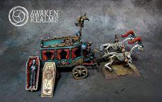 Black Coach #whfb #warhammer #vc #undead #aos #ageofsigmar #gamesworkshop #wellofeterntiy #awakenrealms #miniatures #hobby #wargaming #propainted