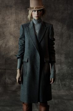 Thomas Wylde Autumn/Winter 2012 Mode Style, Style Me, Thomas Wylde, Dark Autumn, Tweed Coat, Street Style, Weekend Style, American Women, Playing Dress Up