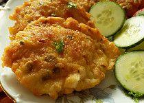 Kuřecí řízečky v pařížském těstíčku Risotto, Zucchini, Shrimp, Food And Drink, Cooking Recipes, Pizza, Treats, Chicken, Vegetables