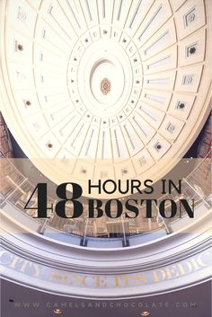 4d0e7b62b A Couple s Guide to a Weekend in Boston. Beantown  Full of history
