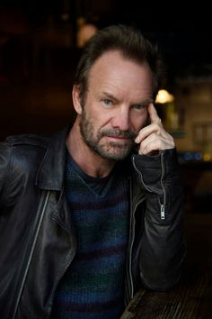 Sting by Kevin Mazur 2016.  Great photo of Sting!