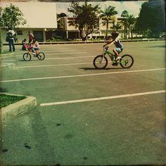 O primeiro motivo para a opção pela bicicleta foi o 'ser mais rápida';