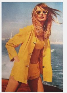 Jean Shrimpton, 1967.