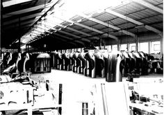 Jaguar e-Type bonnet production at Abbey Panels. Jaguar Type, Jaguar Cars, E Type, Automobile, Restoration, Factories, Classic, Car, Derby