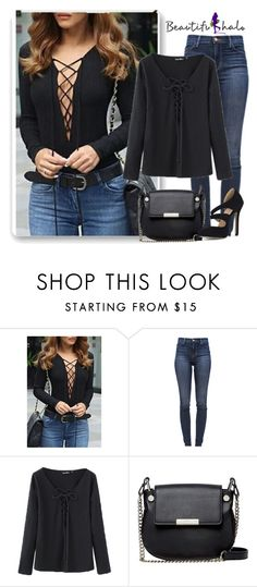 """""""Beautifulhalo II-15"""" by istrijana ❤ liked on Polyvore featuring J Brand, French Connection and bhalo"""