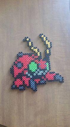 Tentomon - Digimon perler beads by wxrchief