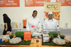 View of the Icancook2 station at the Grand Tasting presented by ShopRite featuring KitchenAid®...