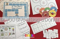 If You Give a Dog a Donut Activities and Fun is a great way to integrate tons of learning into a few days easily and seamlessly in your classroom.