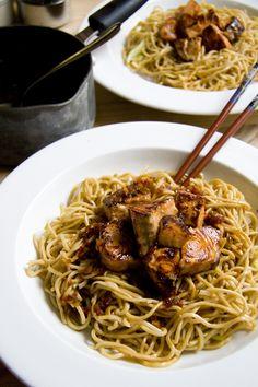 Teriyaki Salmon with Noodles | DonalSkehan.com