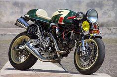 Ducati 'La Permalosa' - Unique Cycle Works - Racing Cafe   1987 BMW R80 - Christian - The Bike Shed   1982 Moto Guzzi 1000SP - Officine Rossopuro -BikeExif    Honda XR650 - Crossed Purpose - Ottonero   Honda CB400 -Emporio Elabroazoni Meccaniche - The Bike Shed   1974…