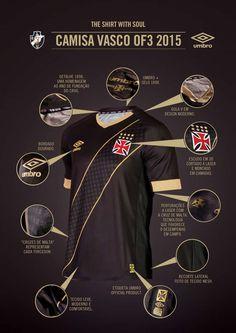 vasco terceira camisa 2015 (Foto: Divulgação)