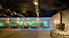 Portland Oregon Wedding Venues - Camp Turnaround boasts a restored, 3000 sq. ft. Pavilion seating 200.