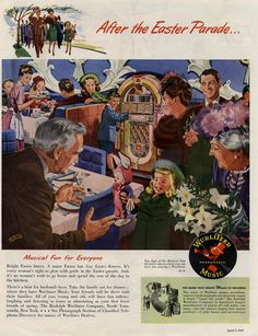 Vintage Easter Advertisement - After the Easter Parade