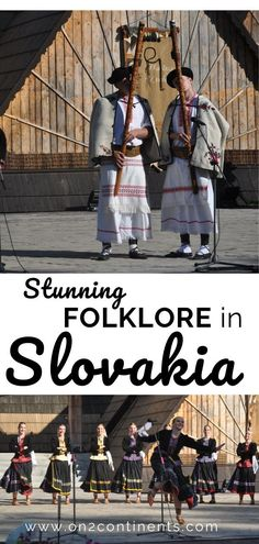 Gallery of 38 pictures of Slovak Folklore. In Slovakia, folk dancing, singing and music have very long and strong tradition. Folk Dance, Tap Dance, Contemporary Dance, Modern Dance, Travel Couple, Family Travel, Evil Clowns, European Destination, Scenic Design
