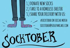 Socktober!  What will we do?