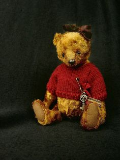 Claudia,One Of a Kind Artist Bear from Aerlinn Bears.