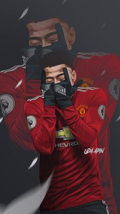 Sport poster soccer manchester united 47 Ideas for 2019 Best Football Players, Football Art, Soccer Players, Football Moms, Cr7 Messi, Messi And Ronaldo, Neymar Jr, Manchester United Wallpaper, Manchester United Players