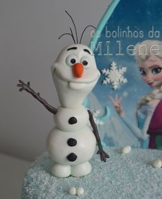 Olaf - Frozen - Olaf handcrafted in sugar paste