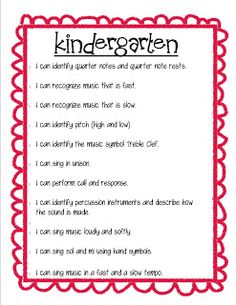 """So La Mi: Teaching Elementary Music: Instrument Labels and """"I Can"""" Posters"""