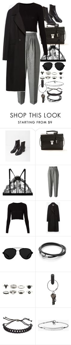 """Untitled #8411"" by nikka-phillips ❤ liked on Polyvore featuring Isabel Marant, Yves Saint Laurent, Mimi Holliday by Damaris, Topshop, Zara, 3.1 Phillip Lim, PA Design, Marc by Marc Jacobs and MICHAEL Michael Kors"