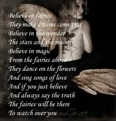 May the fairies watch over you always....