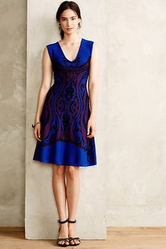 Bookmatch Sweater Dress - anthropologie