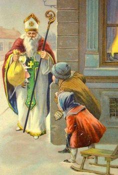 (Su Festividad es el 6 de Diciembre)       Glorioso San Nicolás de Bari, defensor inexpugnable de las vidas,   y Padre amantísimo de al...