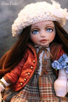 Лика - рыжий,кукла ручной работы,кукла,кукла в подарок,кукла интерьерная