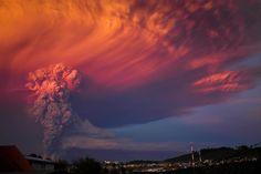 Erupción volcán Calbuco by Franck Torres on 500px