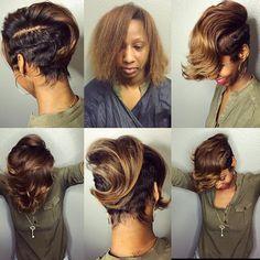I'm all the way up #BirthdayGirl #Newlook #transformation #oneshot #khimandistylefundamentals #thecutlife #modernsalon #naturalhair #hairstyle #americansalon #shorthair