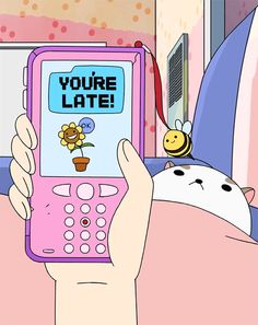Bee's phone.. I could probably make a case to look like that
