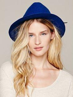 blue felt hat  lt 3 Floppy Hats 8212b900f3a9