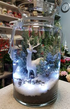 Creative Christmas Decor for Small Apartment Ideas Which Are Merry & Bright ., 100 Creative Christmas Decor for Small Apartment Ideas Which Are Merry & Bright ., 100 Creative Christmas Decor for Small Apartment Ideas Which Are Merry & Bright . Christmas Jars, Simple Christmas, All Things Christmas, Christmas Time, Christmas Wreaths, Cheap Christmas, Beautiful Christmas, Dollar Store Christmas, Christmas Lanterns