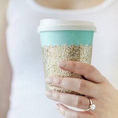 Looking to add a little flair to your morning cup? We are sharing how to make darling coffee cup sleeves in this tutorial!