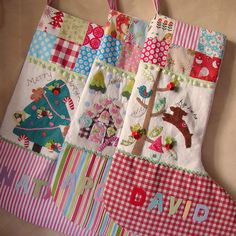 Christmas stockings...so cute