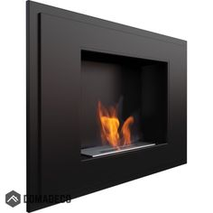 Kratki Alpha Black Cheminée au bioéthanol 800 mm x 590 mm Fireplace Showroom, Gel Fireplace, Wall Mounted Fireplace, Modern Fireplace, Biofuel Fireplace, Bioethanol Fireplace, Fireplaces, Bio Ethanol, Ethanol Fuel