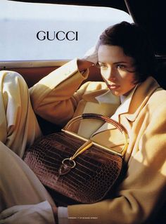 Photo (Fashion Gone rouge) - - Vogue Editorial, Editorial Fashion, Car Editorial, Gucci Campaign, Campaign Fashion, Vintage Gucci, Vintage Ads, Vintage Fashion, Vintage Vibes