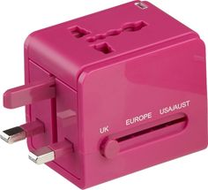 Not that I travel or anything, but this is pretty awesome! universal travel adapter  | CB2