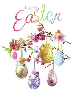 Happy Easter Easter Messages, Easter Wishes, Easter Art, Easter Crafts, Easter Eggs, Happy Easter Wallpaper, Happy Easter Greetings, Happy Easter Day, Easter Illustration