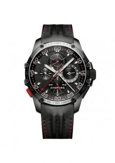 Chopard Watches Superfast Chrono Split Second DLC blackened stainless steel
