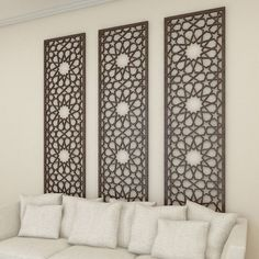 Home Decor DIY, Delightfully exciting ref 7567083556 – Simply lovely house styling tips. Moroccan Decor Living Room, Moroccan Interiors, Living Room Decor, Bedroom Decor, Wall Decor, Middle Eastern Decor, Islamic Decor, Wall Design, Home Interior Design