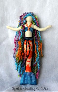 Mermaid Art Doll