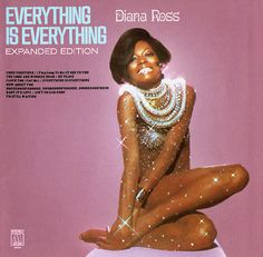Diana Ross album cover  Everything is Everything