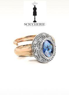 Anello Rebecca Gioielli collezione Manhattan con pietra naturale. #rings #sciccherie #jewels