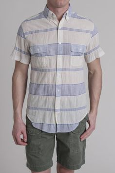 Shades of Grey S/S 2 Pocket Button Down Shirt