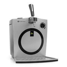 http://ift.tt/1QtSQjH Klarstein BRD Hopfenthal Bierzapfanlage Zapfanlage mit Kühlung (integr. Pumpsystem ohne CO-Patronen für alle 5 Liter FässerTemperaturanzeige) silber -schwarz @buynowiili&