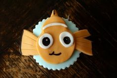 The Nemo Cupcakes that were so much cuter than the ones that I tried to make! cococakecupcakes....