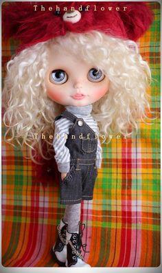 OOAK Custom original Takara Blythe doll Simply by Thehandflower