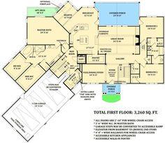 Basemen floor plan with in-law suite