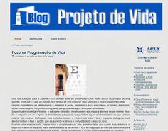 Projeto de Vida - Blog - Desenvolvido por W3alpha. www.w3alpha.com.br